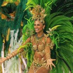 Samba Drummer's Muse in Rio